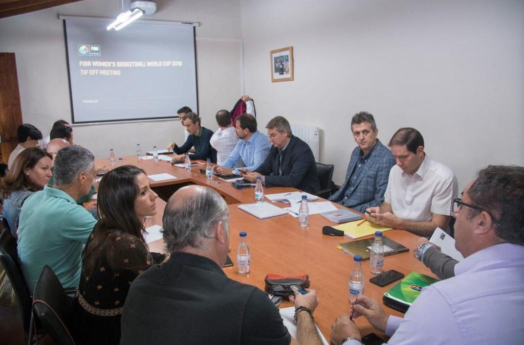 REUNIÓN TÉCNICA DE LA FIBA CON INSTITUCIONES TINERFEÑAS