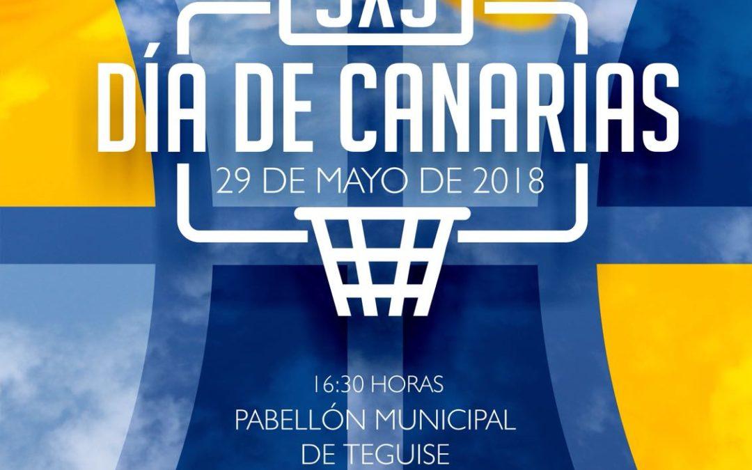 3X3 DÍA DE CANARIAS