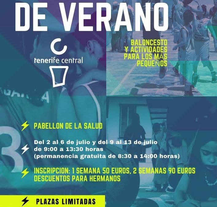 ABIERTA LA INSCRIPCIÓN PARA EL I CAMPUS DE VERANO DEL TENERIFE CENTRAL