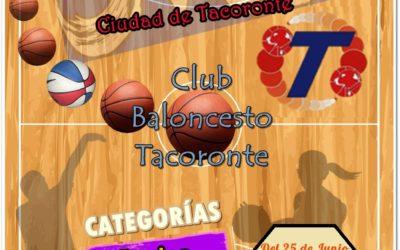 II TORNEO DE BALONCESTO CIUDAD DE TACORONTE
